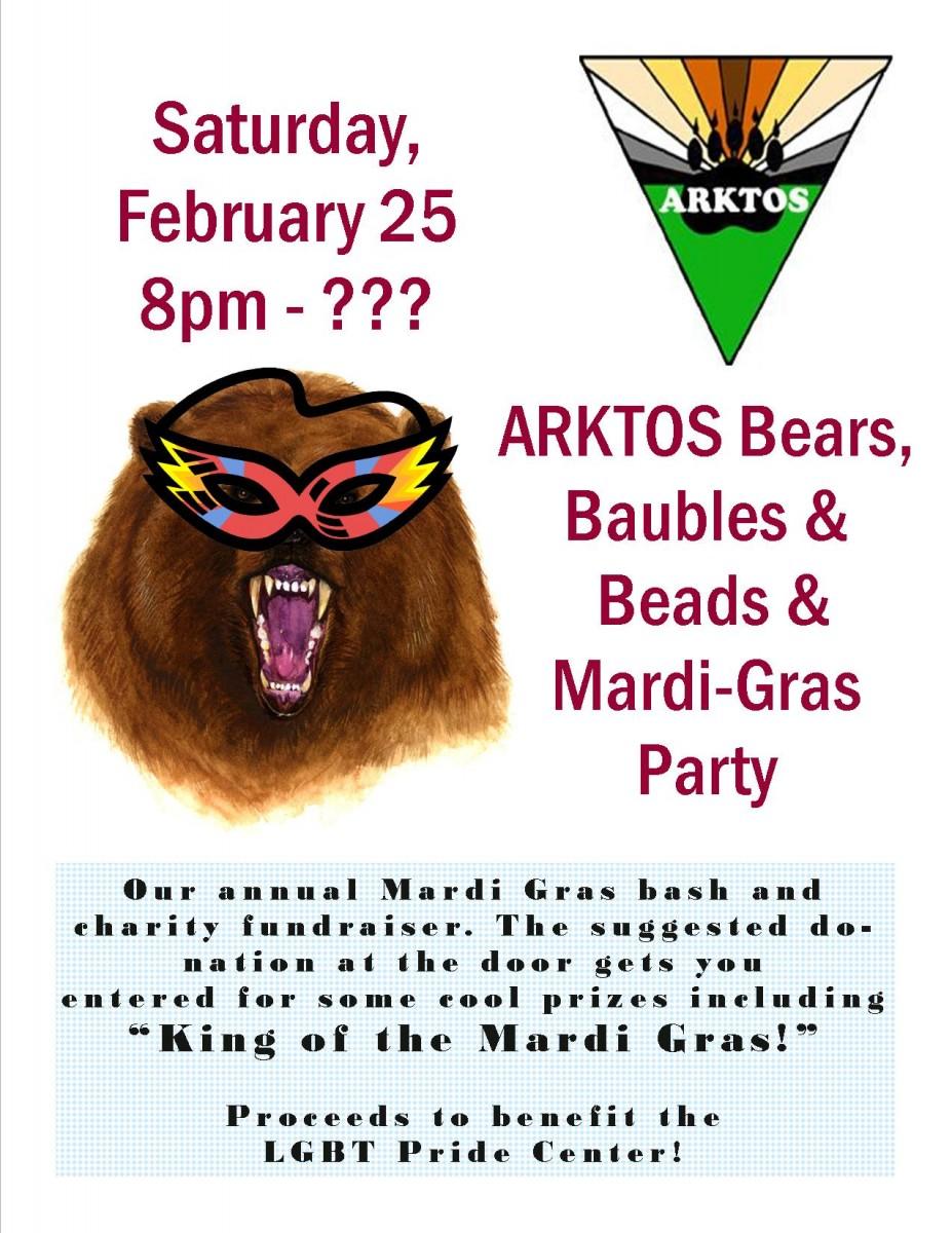 Arktos Mardi-Gras Party