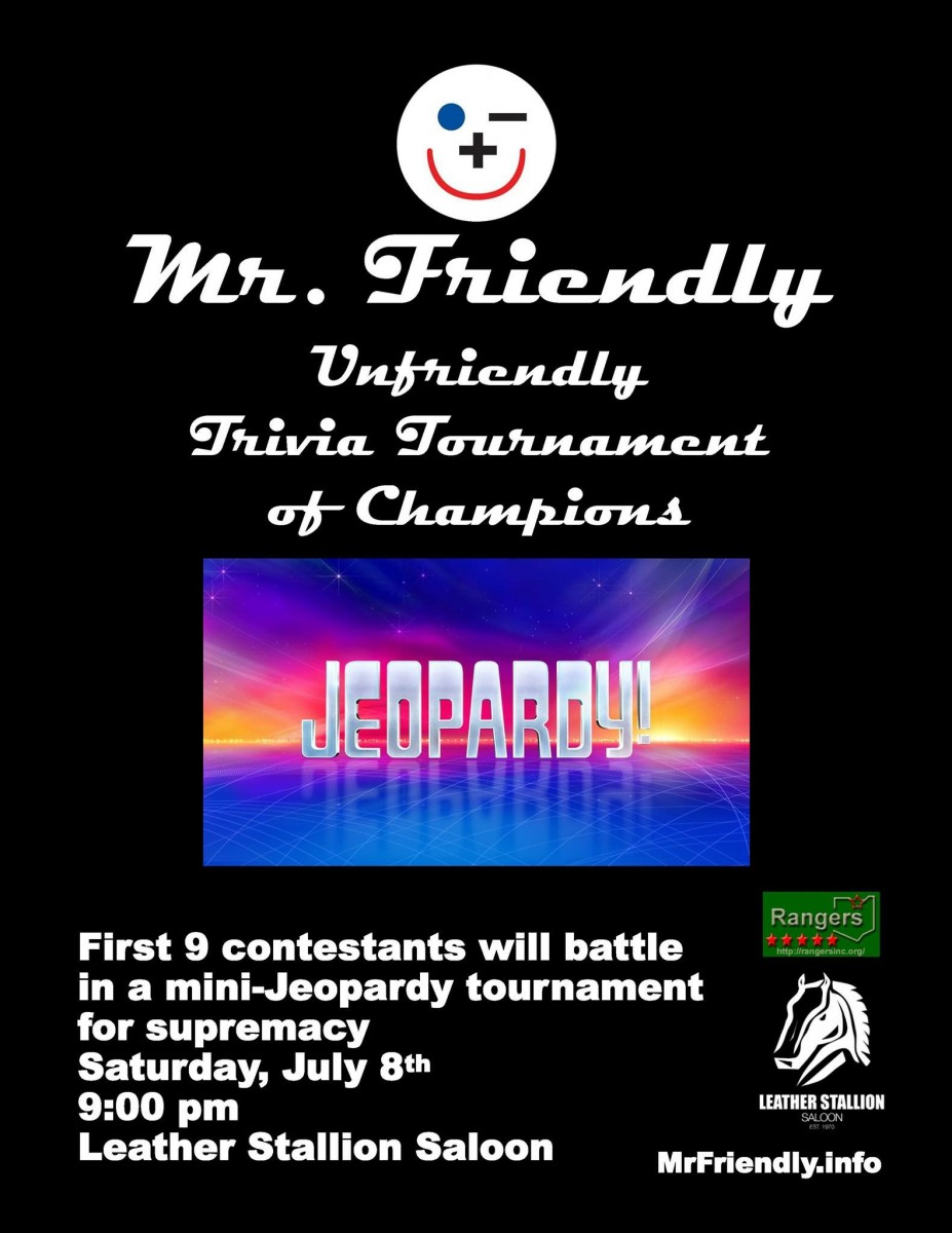 Mr Friendly Trivia