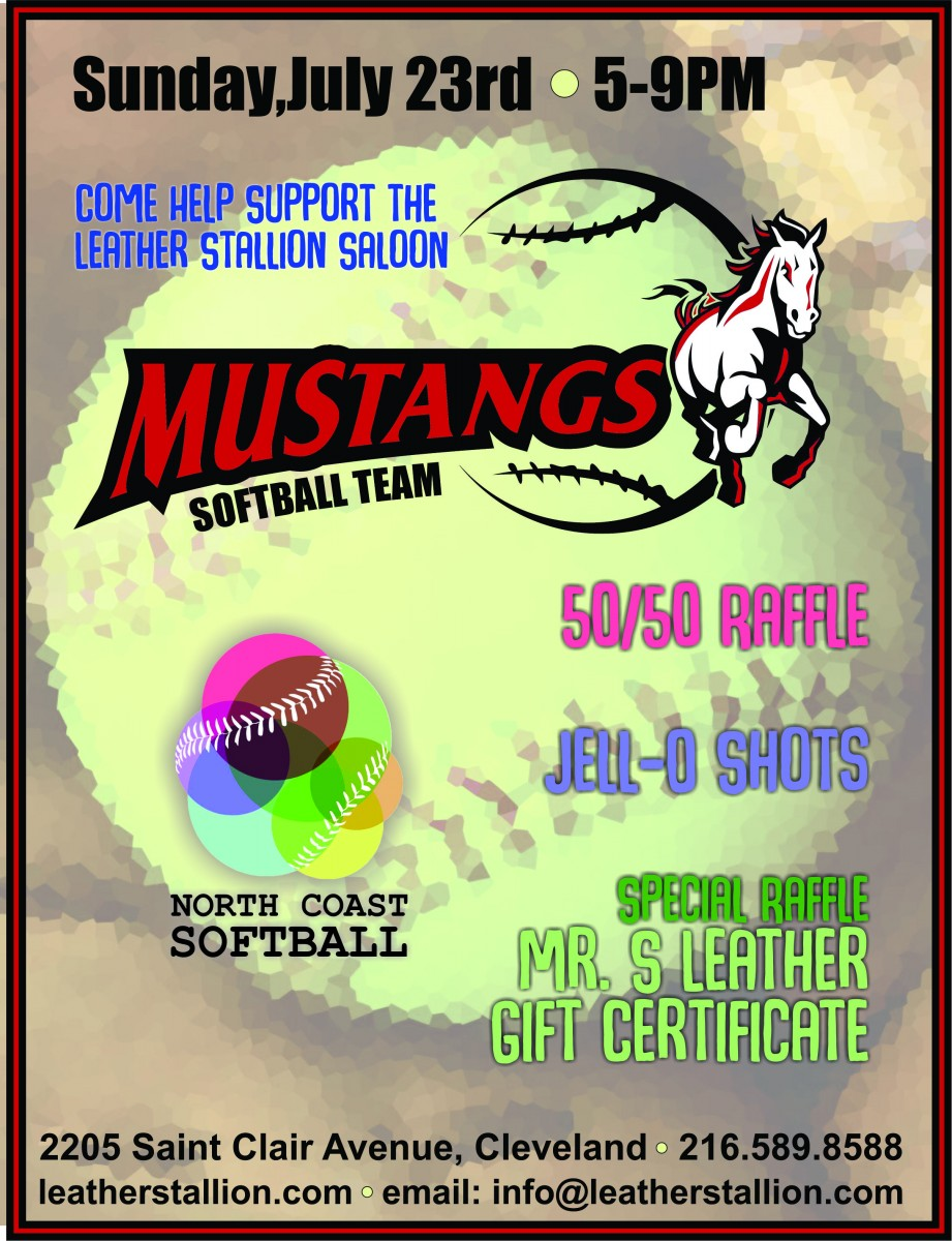 Mustangs July fundraiser