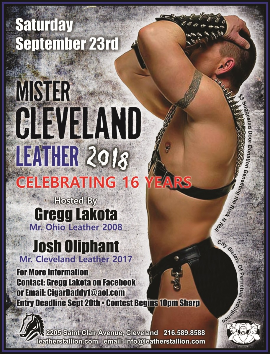 Mr Cleveland Leather 2018
