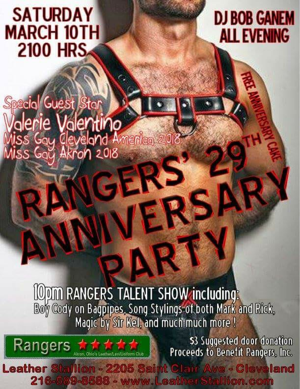 Rangers 29th Anniversary Party