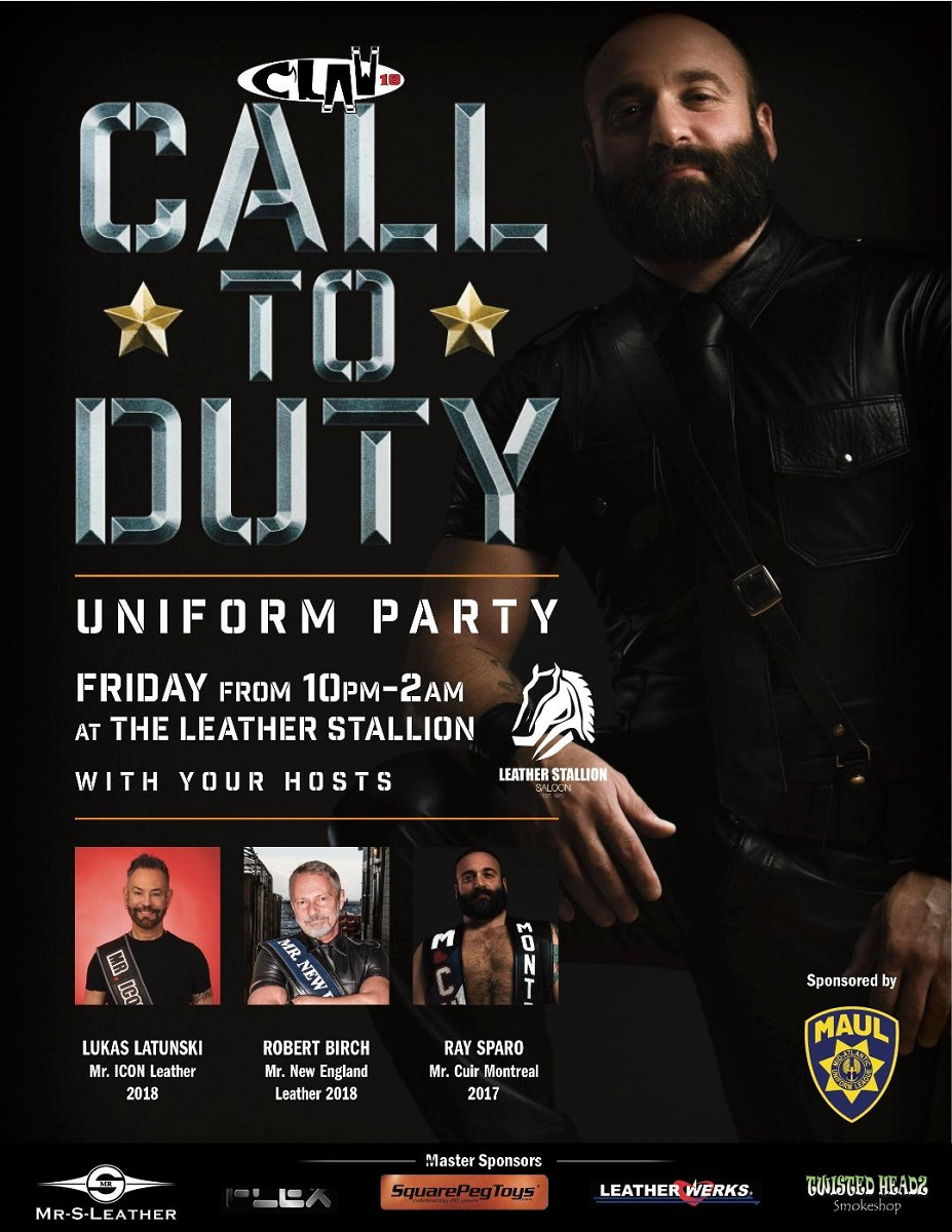 MAUL Call To Duty Uniform Party