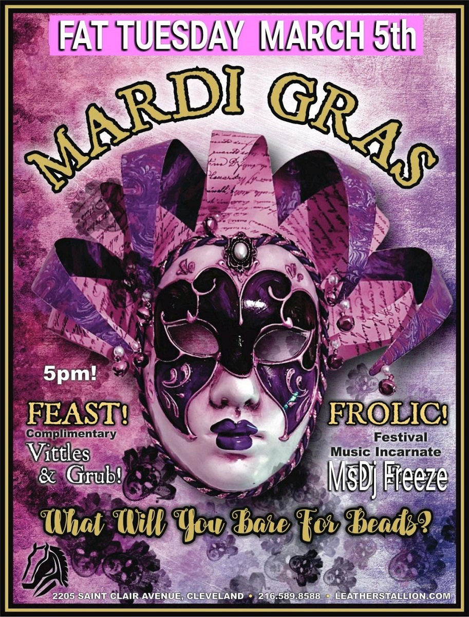 Fat Tuesday/Mardi Gras Party