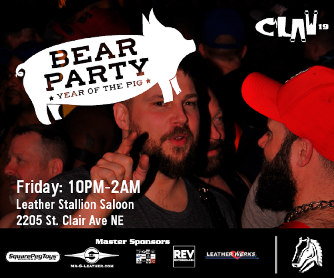 Friday CLAW Event- Yar of the Pig Bear Party