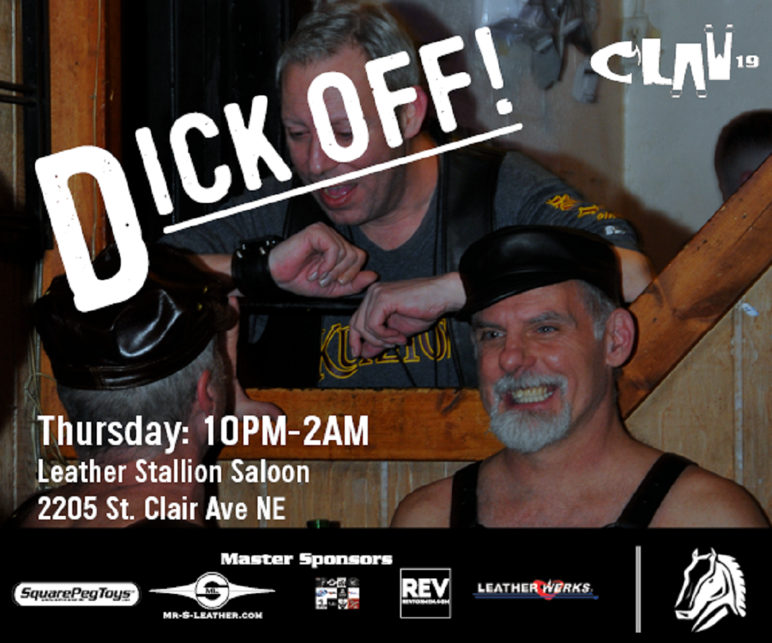 CLAW Event Thursday- Dick Off Party