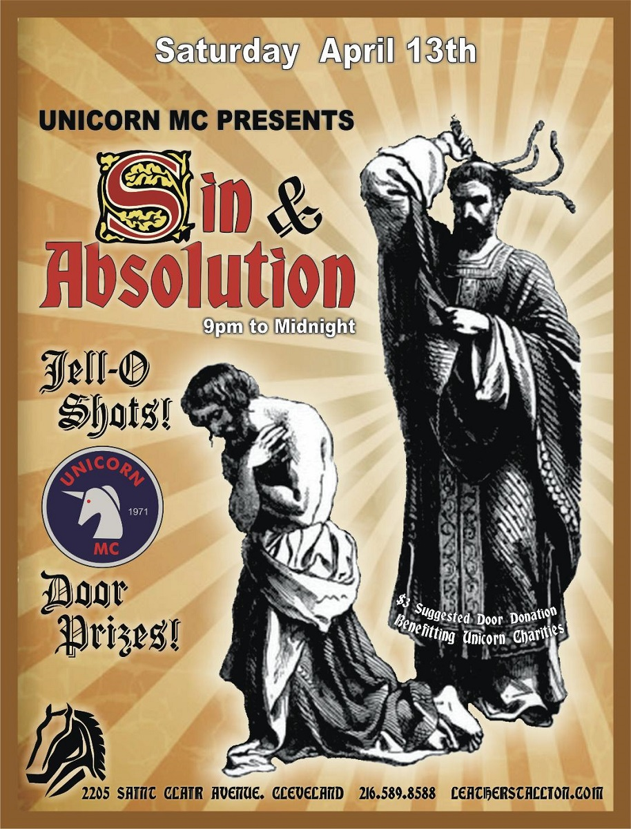 Unicorns Sin and Absolution