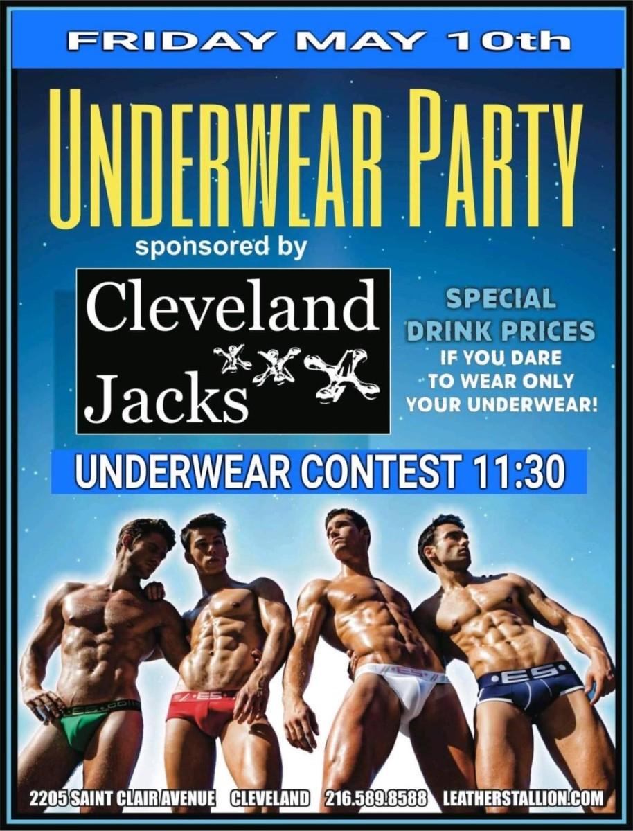 Cleveland Jacks Underwear Party
