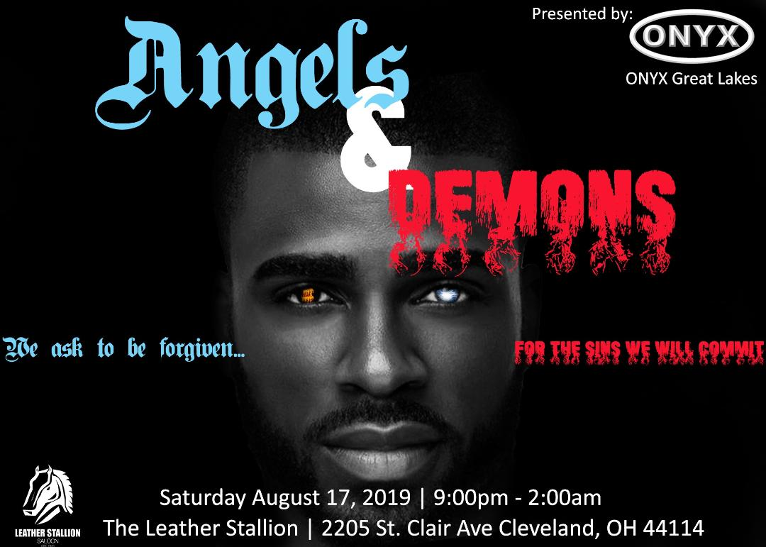 Onyx Great Lakes Angels & Demons Party