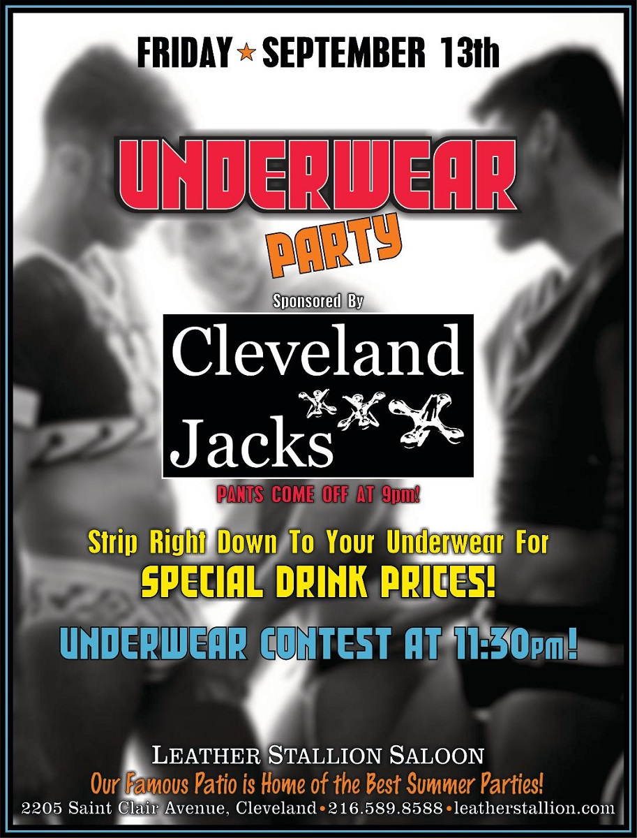 September Underwear Party w/ Cleveland Jacks