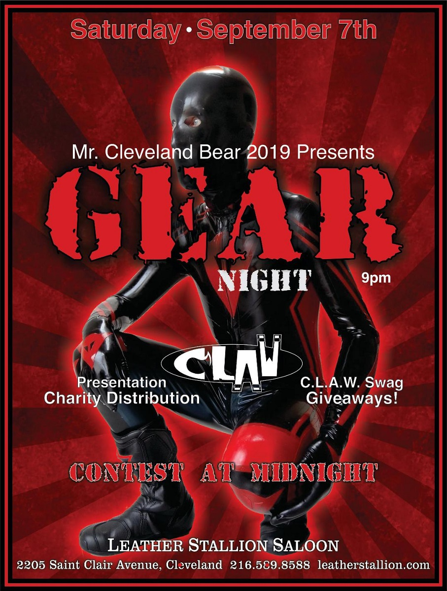 September Gear Night w/ CLAW