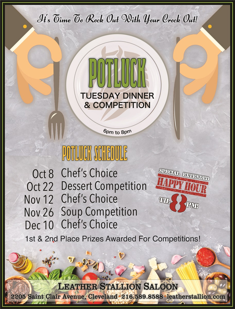 October Potluck Competition- Desserts