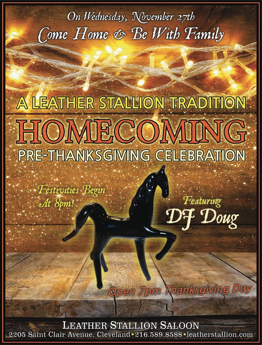 Pre-Thanksgiving Homecoming Party