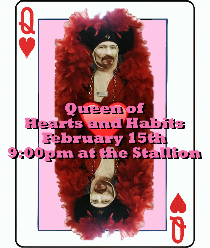 Rock N Roll City Sisters Queen of Hearts and Habits