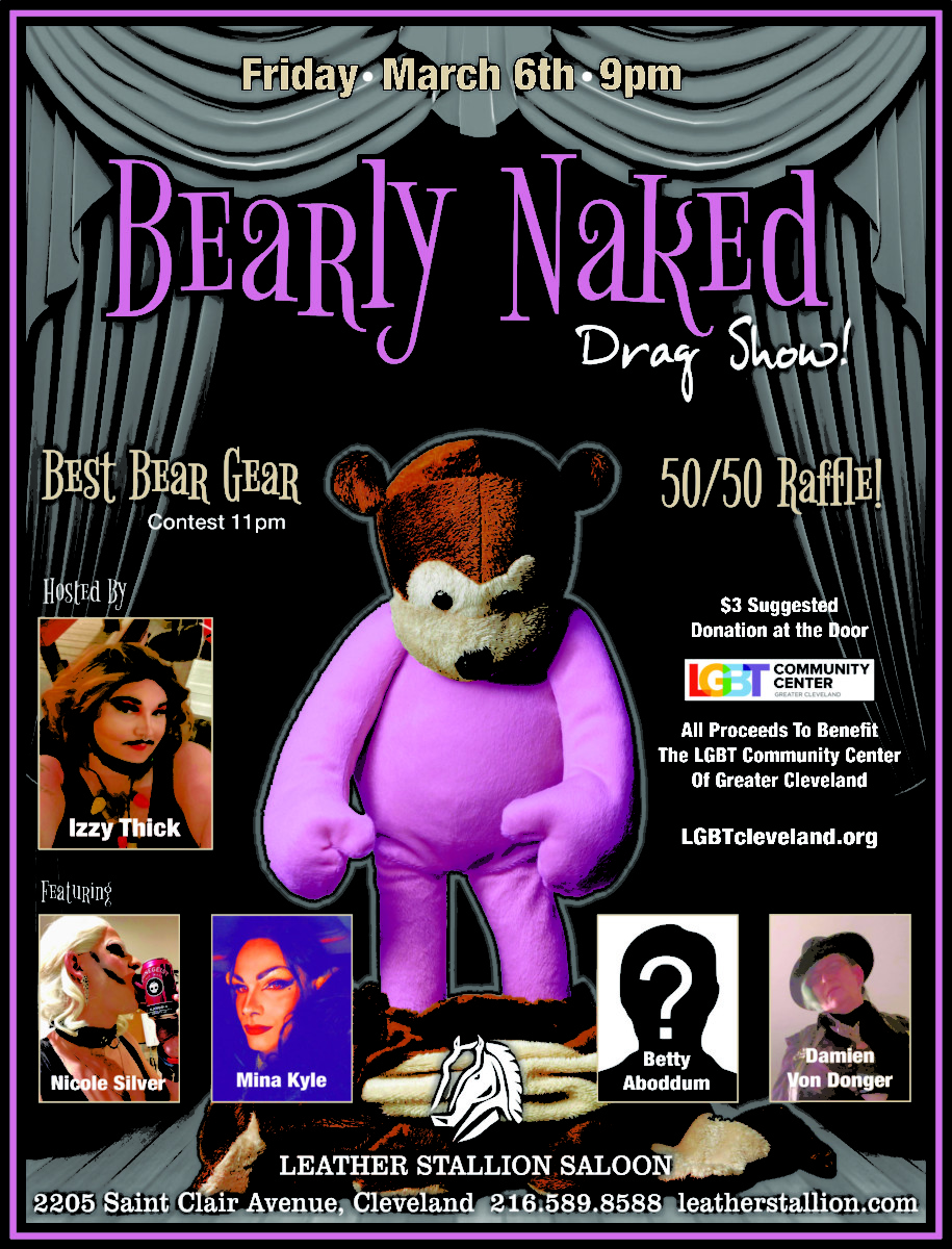 Izzy Thick's Bearly Naked Drag Show
