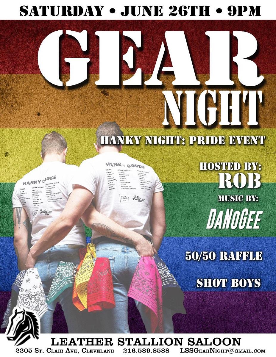 Gear Night-Hanky Pride Event