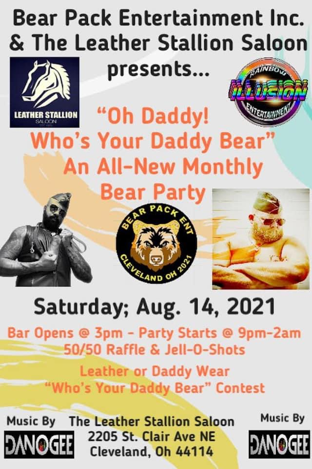 Oh Daddy Who's your Daddy Bear Party