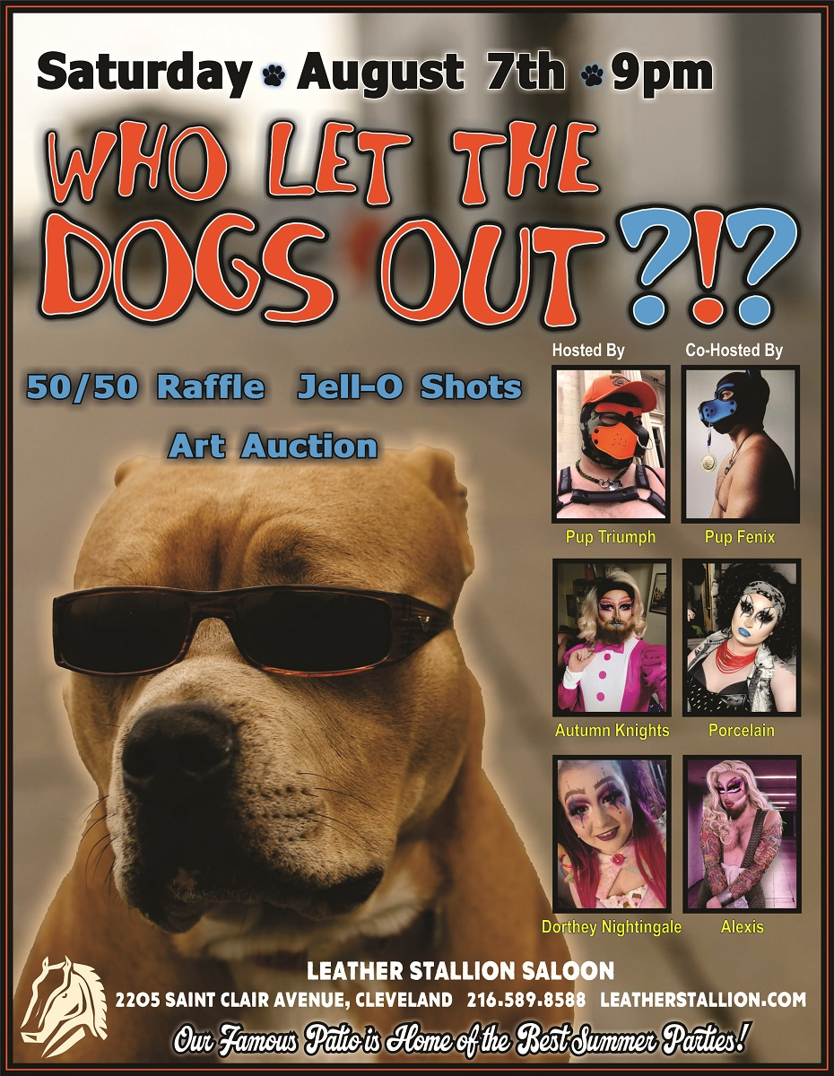 Who Let The Dogs Out!!